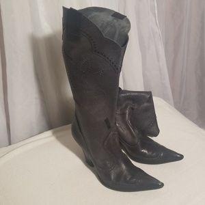 Bcbgirls leather boot